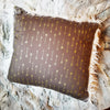 ARROW LOVE PILLOW IN STONE