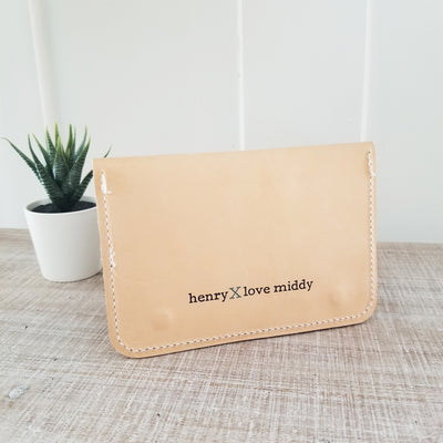 HENRY x LOVE MIDDY LEVI WALLET IN 'BUCK LOVE'