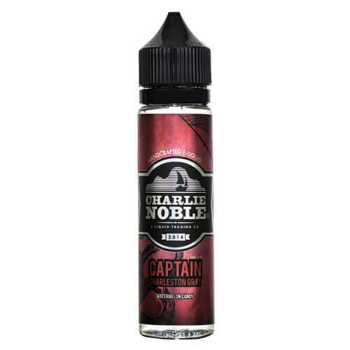 Charlie Noble E-Liquid - Captain Charleston Gray - 60ml