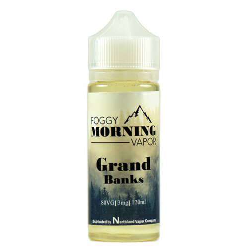 Foggy Morning Vapor - Grand Banks - 120ml