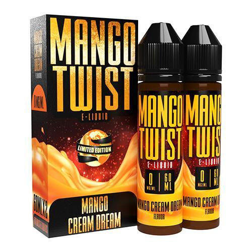 Mango Twist E-Liquids - Mango Cream Dream (Limited Edition) - 2x60ml