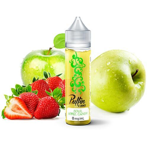 Puffin E-Juice - Sour Apple Candy - 60ml