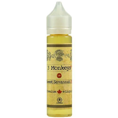 3 Monkeys Premium E-Liquids - Sweet Savannah - 60ml