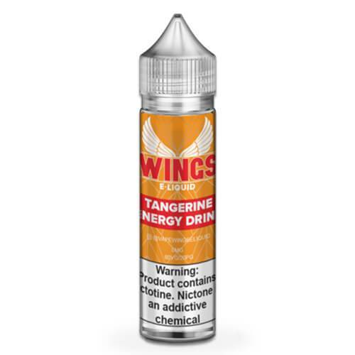 Wings E-Liquid - Tangerine Energy Drink - 60ml