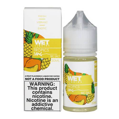 Wet Liquids SALT - Tropics eJuice - 30ml