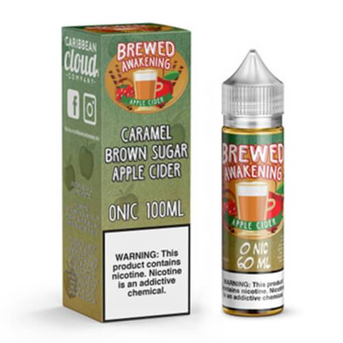 Brewed Awakening by Caribbean Cloud - Apple Cider - 60ml