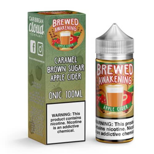 Brewed Awakening by Caribbean Cloud - Apple Cider - 100ml