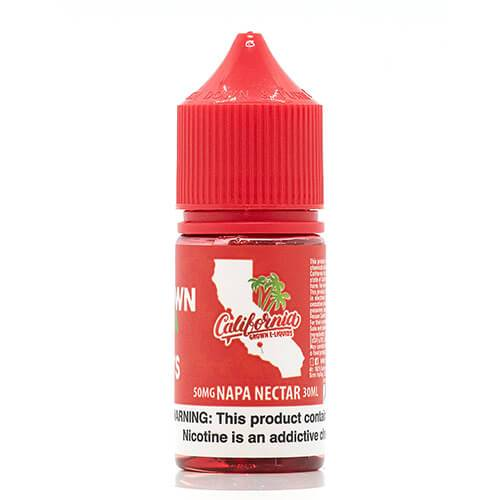 California Grown E-Liquids Salts - Napa Nectar Salt - 30ml