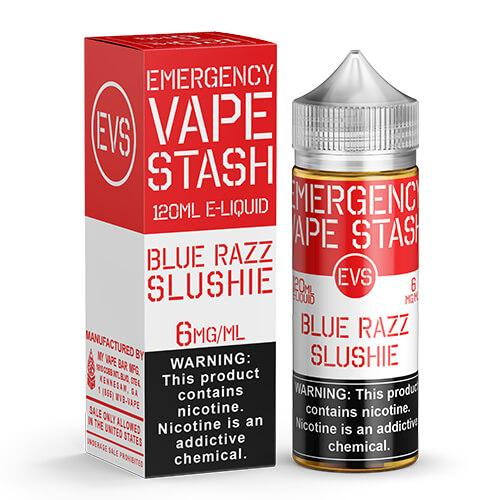 Emergency Vape Stash - Blue Razz Slushie - 120ml