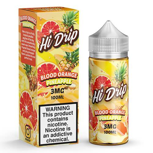 Hi Drip eJuice - Blood Orange Pineapple - 100ml