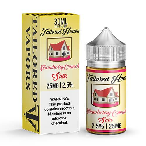 Tailored House eJuice SALTS - Strawberry Crunch - 30ml