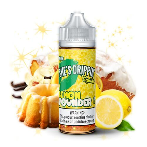 Fuggin eLiquids - She's Dripping - Lemon Pounder - 120ml