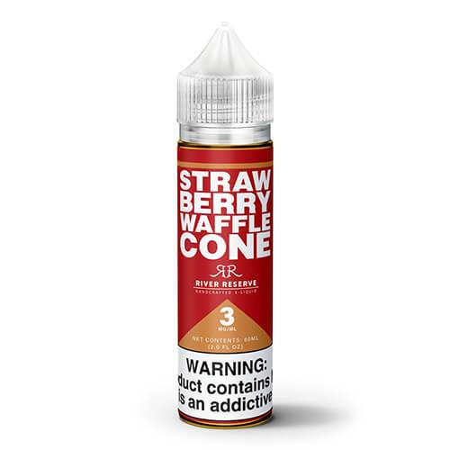 River Reserve - Waffle Cone - Strawberry - 60ml