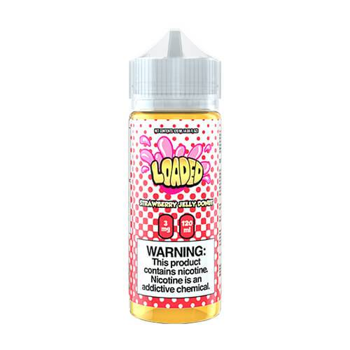 Loaded E-Liquid - Strawberry Jelly Donut - 120ml