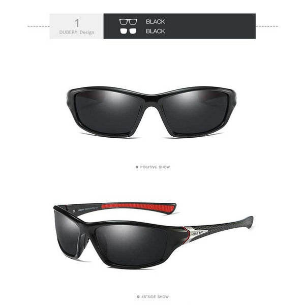 Dubery Polarised Sports Sunglasses