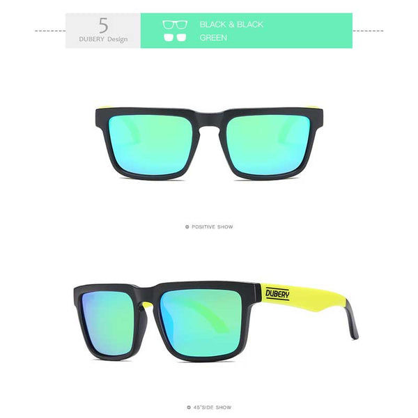 Dubery High Quality Polarised Sunglasses Men