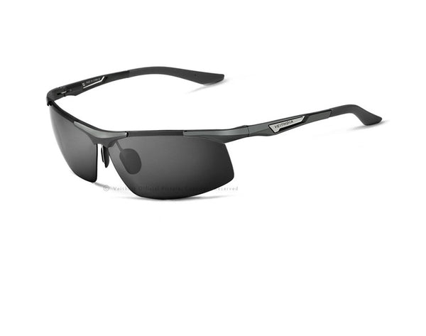Mens Aluminium Polarised Sports Sunglasses