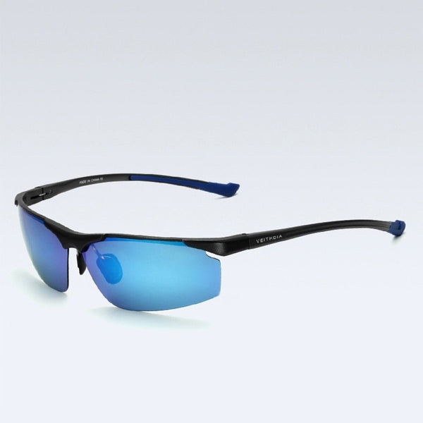 Men's Fashion Aluminum Polarised Mirror Driving Sunglasses