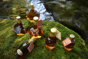 Maple syrup glass containers