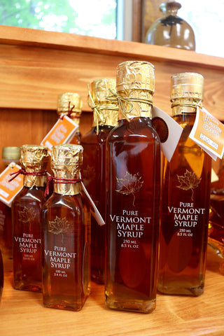 Signature Glass Bottle Maple Syrup
