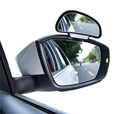 2 Sets Blind Spot Side & Rear Mirror - Wide Angle View