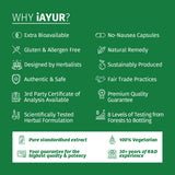 Ayurvedic Medicine - iAYUR Garcinia Cambogia 400 Mg 60 Veg Caps & Acai Berry Extract 500 Mg 60 Veg Caps | Weight Loss Natural Fat Burner Value Pack of 4 - iAYUR