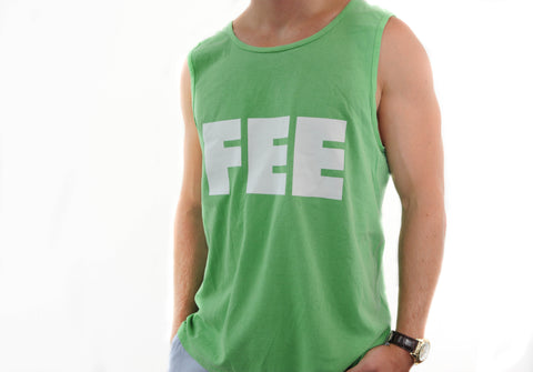 FEE Logo Green Tank Top