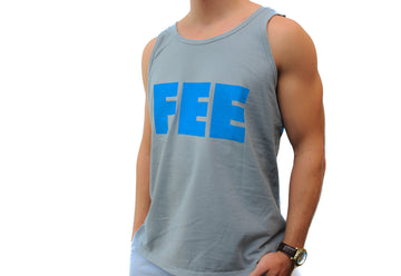 FEE Logo Gray Tank Top