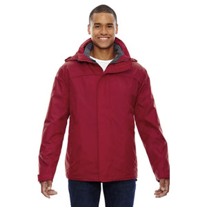 Adult 3-In-1 Jacket - Xsmall / Molten Red - Outerwear