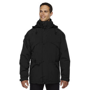 Adult 3-In-1 Parka With Dobby Trim - Xsmall / Black - Outerwear