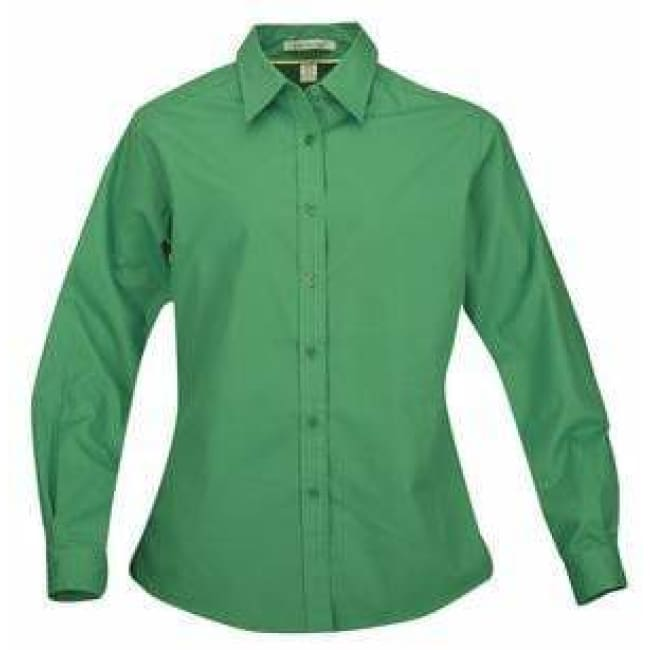 Coal Harbour Easy Care Woven Shirts Ladies - Xsmall / Court Green - Woven