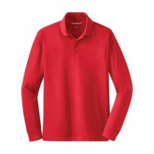 Coal Harbour Snag Resistant Sport Shirt Long Sleeve - Xsmall / True Red - Sport Shirt