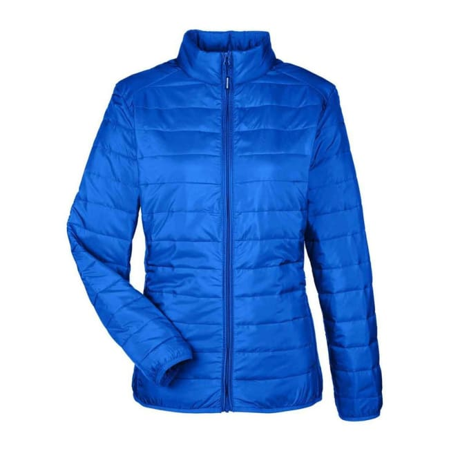 Core 365 Womens Black Prevail Packable Puffer - Xsmall / True Royal - Outerwear