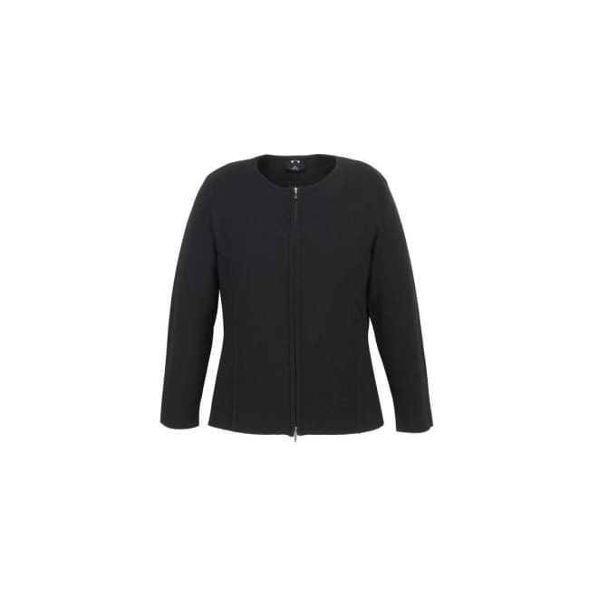 Ladies 2-Way Zip Cardigan - Knitwear