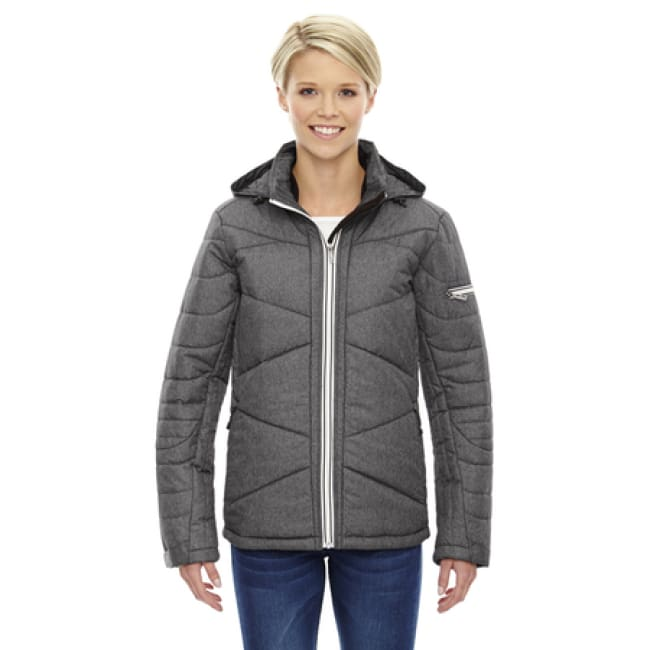 Ladies Avant Tech Mélange Insulated Jacket With Heat Reflect Technology - Xsmall - Jacket