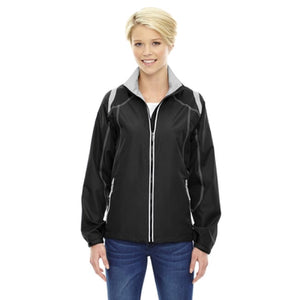 Ladies Endurance Lightweight Colorblock Jacket - Xsmall / Black - Outerwear