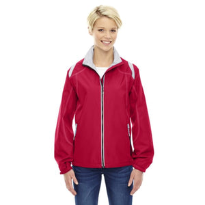 Ladies Endurance Lightweight Colorblock Jacket - Xsmall / Olympic Red - Outerwear