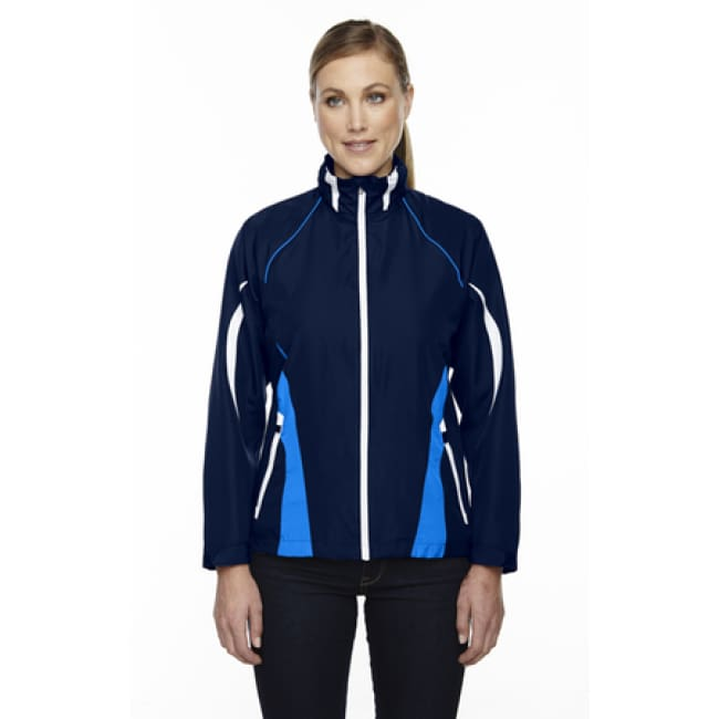 Ladies Impact Active Lite Colorblock Jacket - Xsmall / Night - Outerwear