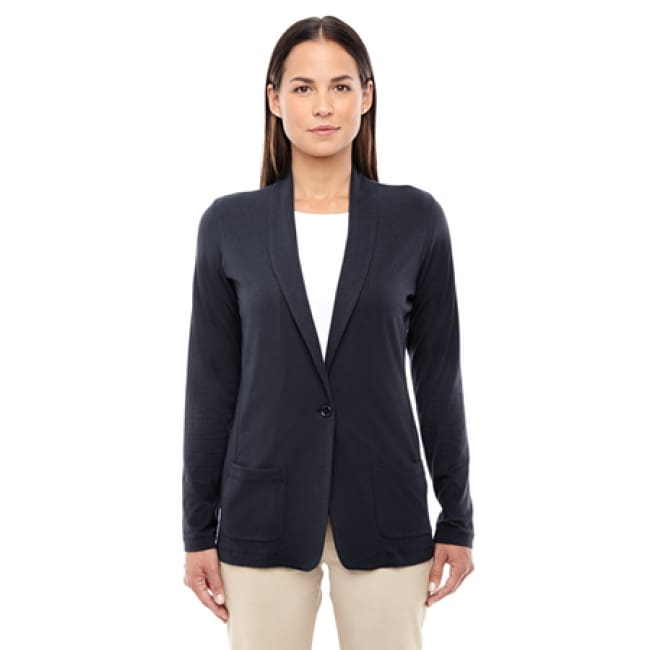 Ladies Perfect Fit Shawl Collar Cardigan - Sweater