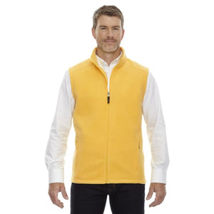 Mens Journey Fleece Vest - Small / Campus Gold - Vest