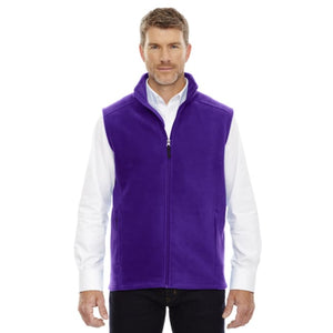 Mens Journey Fleece Vest - Small / Campus Purple - Vest