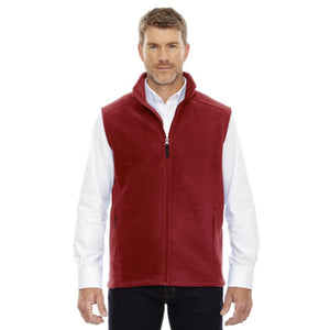 Mens Journey Fleece Vest - Small / Classic Red - Vest
