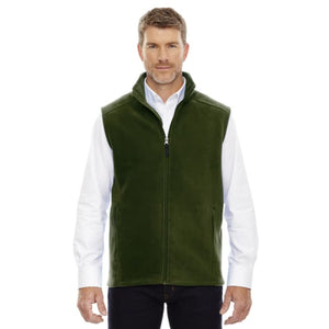 Mens Journey Fleece Vest - Small / Forest - Vest