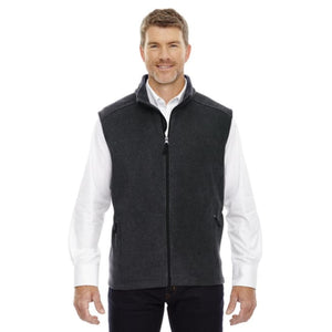 Mens Journey Fleece Vest - Small / Heather Charcoal - Vest