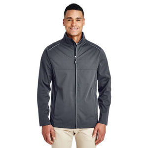 Mens Techno Lite Three-Layer Knit Tech-Shell - Small / Carbon - Outerwear