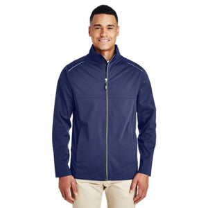 Mens Techno Lite Three-Layer Knit Tech-Shell - Small / Classic Navy - Outerwear