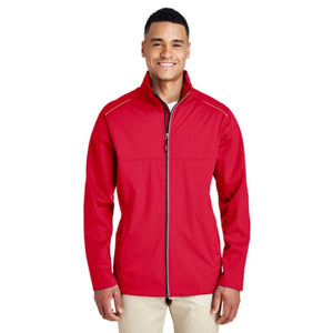 Mens Techno Lite Three-Layer Knit Tech-Shell - Small / Classic Red - Outerwear