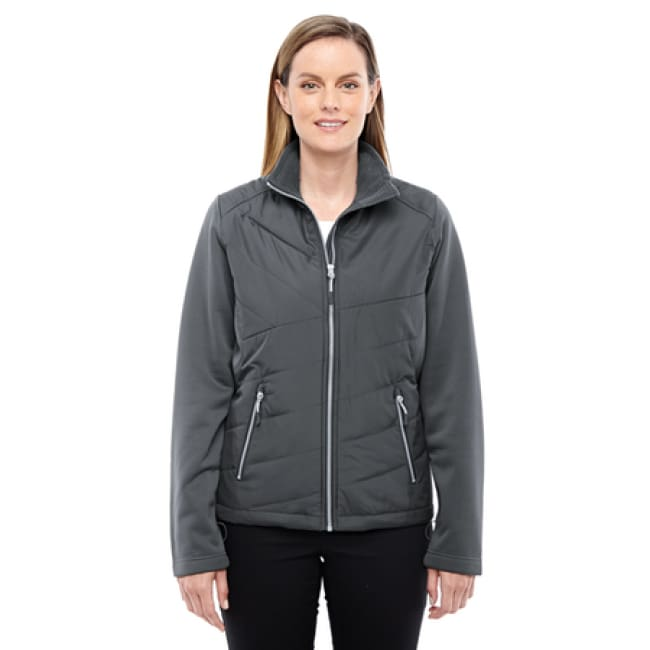 Womens Quantum Interactive Hybrid Insulated Jacket - Jacket