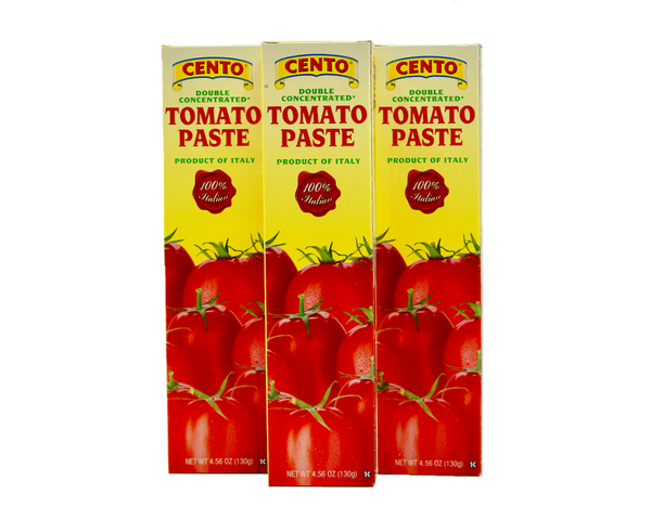 Cento Double Concentrated Tomato Paste Tube 4.56 oz.