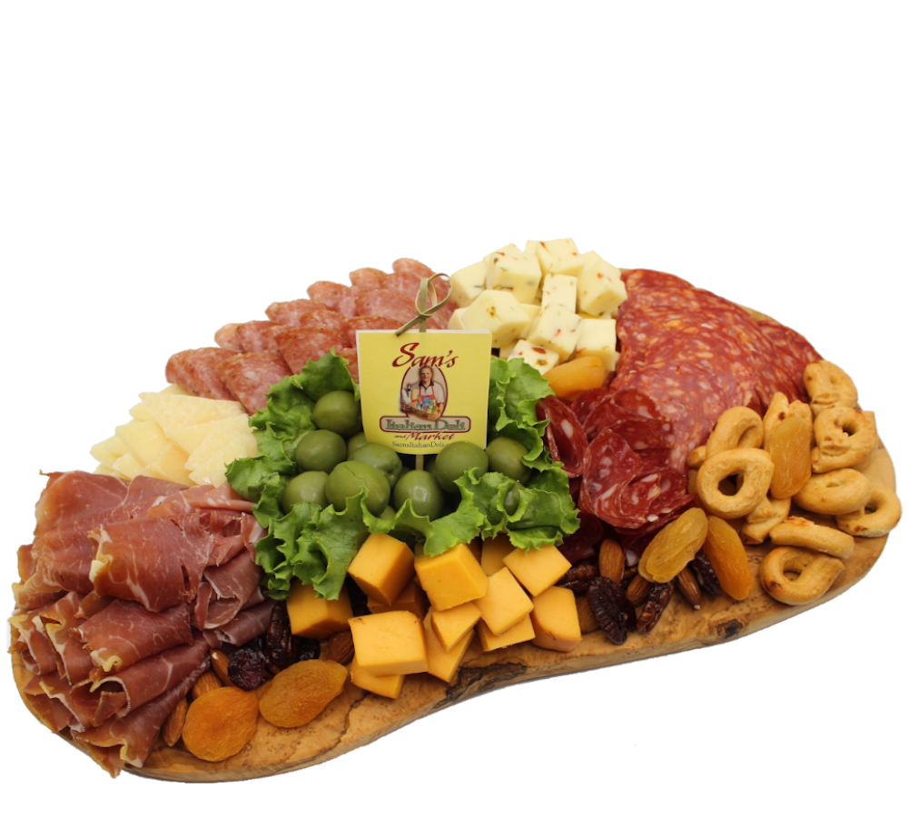 Sam's Small Charcuterie Board (Includes the Olive Wood Board)  Limited